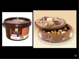 Шоколад для моделирования: Специальная масса для моделирования, ее можно подк