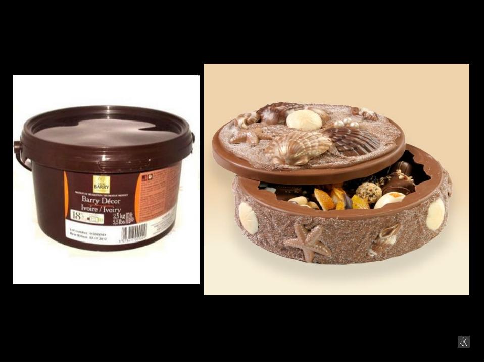 Шоколад для моделирования: Специальная масса для моделирования, ее можно подк...