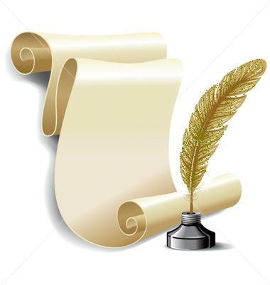 http://www.itom.cz/uploads/images/vectorstock-228404-roll-of-old-paper-and-feather-in-the-inkwell-vector.jpg