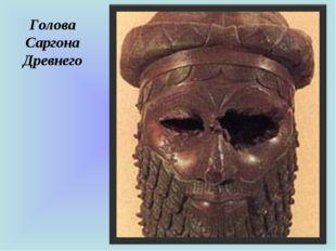 Голова Саргона Древнего