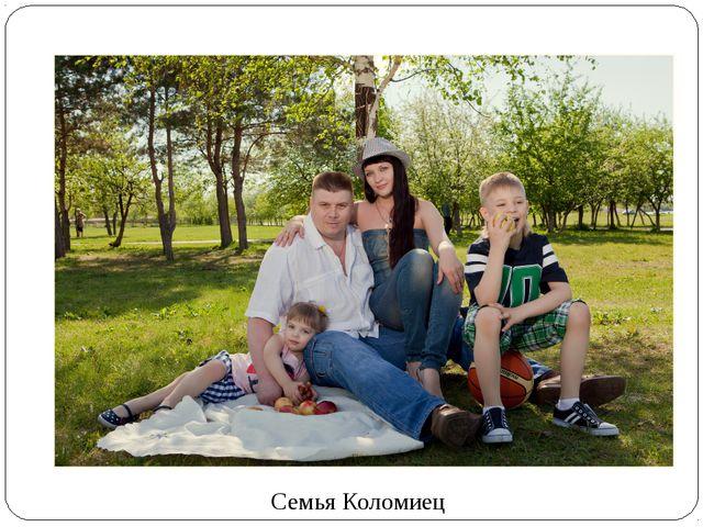 Семья Коломиец