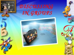 DISCUSSING IN GROUPS