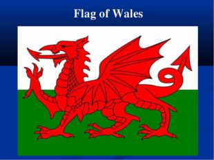 Flag of Wales
