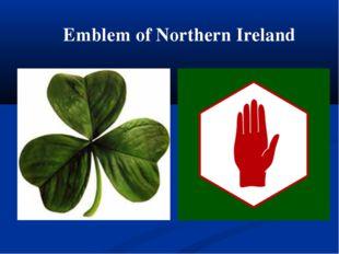Emblem of Northern Ireland