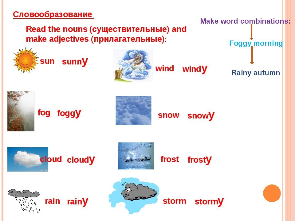 sun sunny fog foggy cloud cloudy rain rainy wind windy snow snowy frost frost...