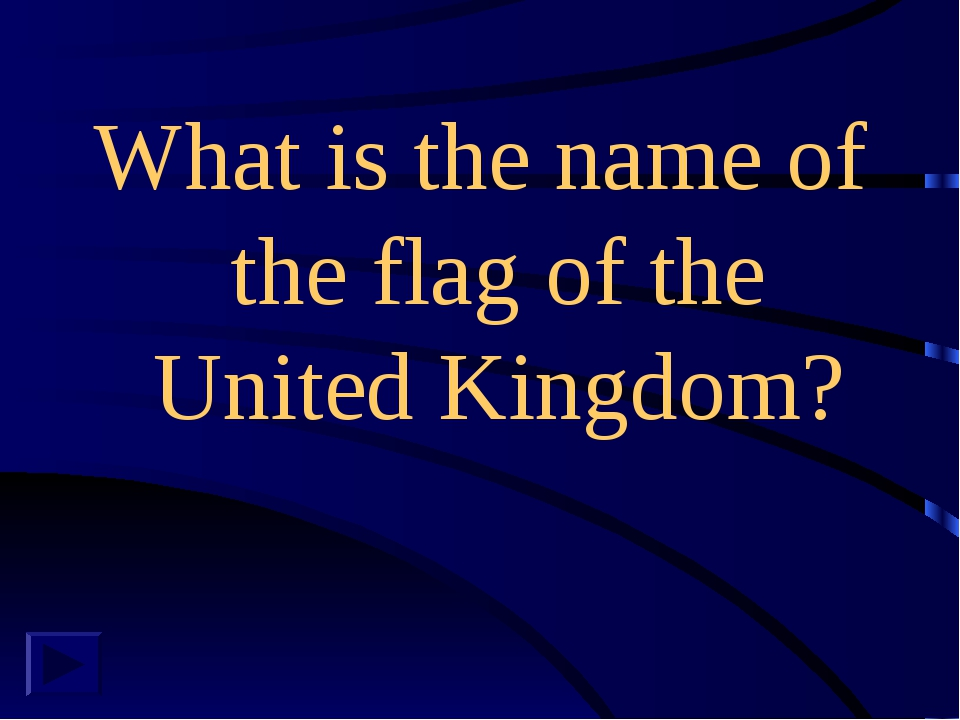 What is the name of the flag of the United Kingdom?