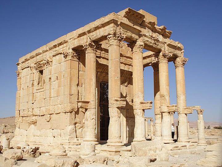 Храм Баалшамина - один из самых значимых памятников поздней античности