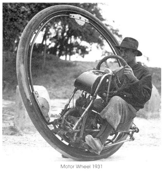 Необычные виды транспорта