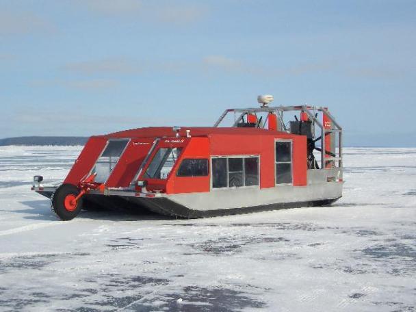 Ледовая лодка, США