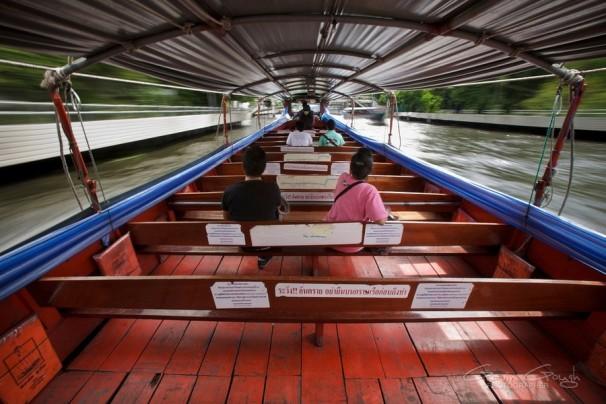 Водное такси по каналам, Таиланд