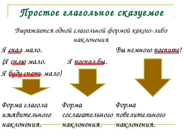 Тест по русскому языку 8 класс по теме сказуемое и его основные типы