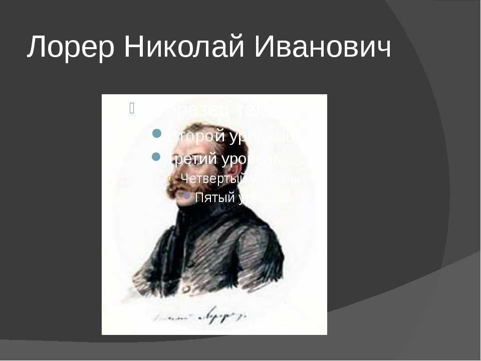 Лорер Николай Иванович