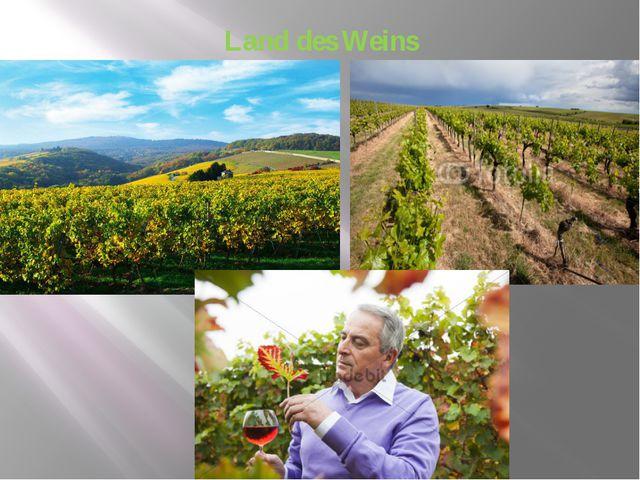 Land des Weins