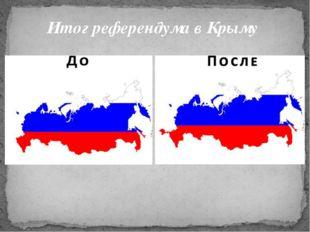 Итог референдума в Крыму