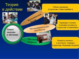 Теория в действии Метапознавательные способности Обмен знаниями (стратегия «Л