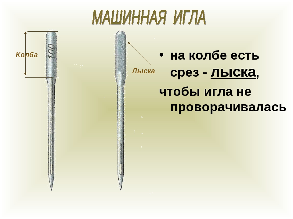 Колба Лыска на колбе есть срез - лыска, чтобы игла не проворачивалась