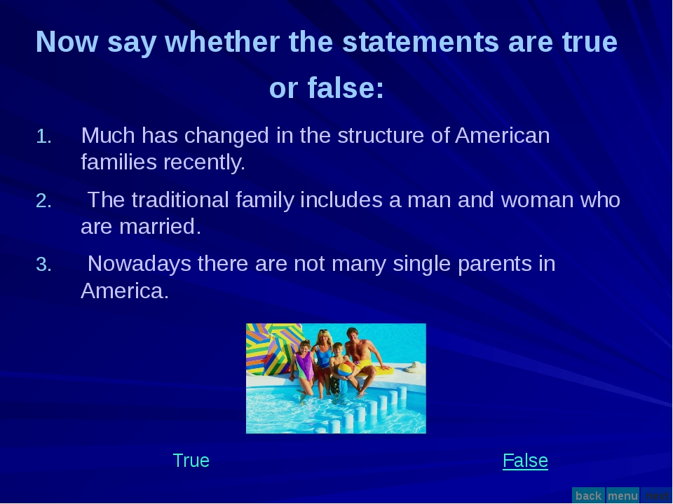 Much has changed in the structure of American families recently. The traditio...