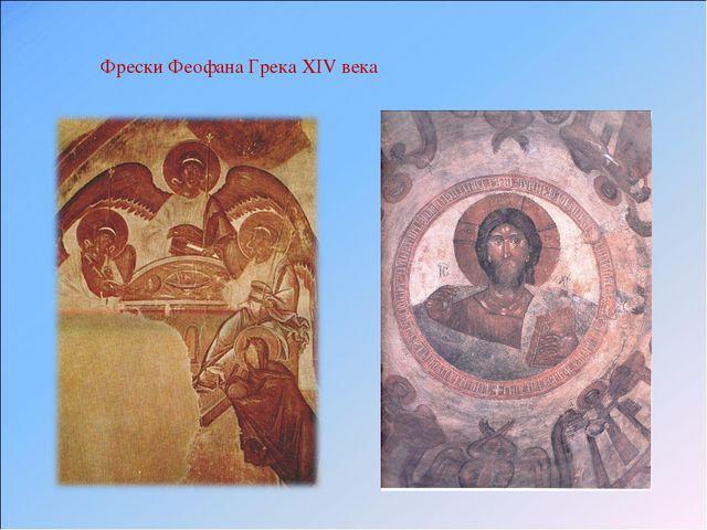 Фрески Феофана Грека XIV века