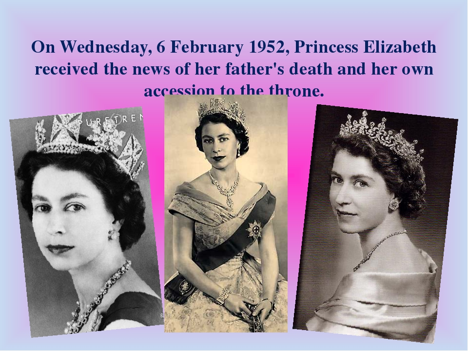 On Wednesday, 6 February 1952, Princess Elizabeth received the news of her fa...
