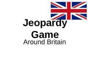 Jeopardy Game Around Britain
