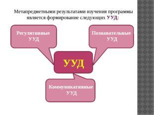Метапредметными результатами изучения программы является формирование следующ