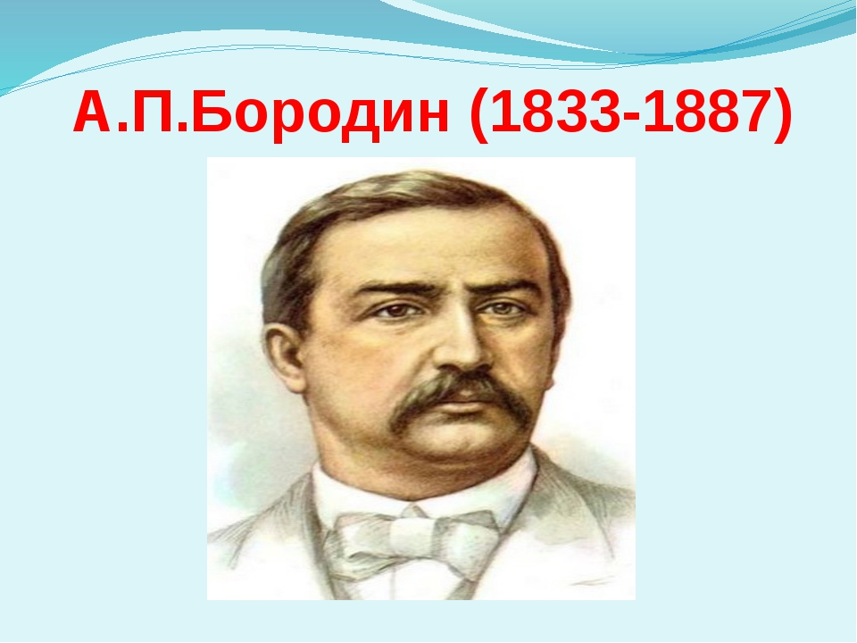 А.П.Бородин (1833-1887)