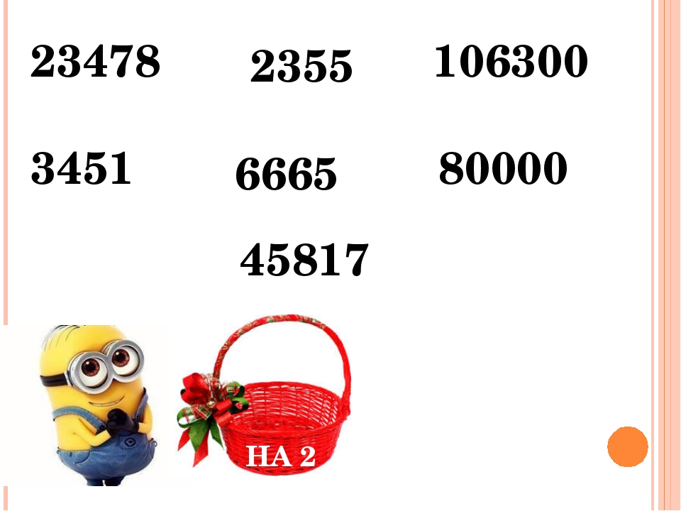 НА 2 НА 5 НА 10 23478 2355 106300 3451 6665 80000 45817