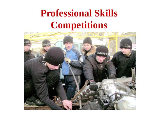 Professional Skills Competitions