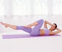 Упражнение для мышц спины