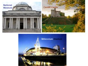 Millennium Stadium National Museum Cardiff Castle