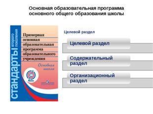 Основная образовательная программа основного общего образования школы