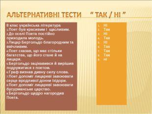 8 клас українська література Поет був красивим і щасливим. До оселі Поета пос