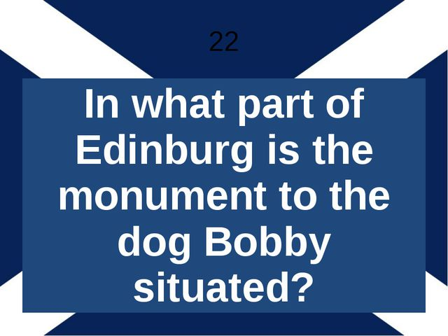 25 What is the Royal Mile?