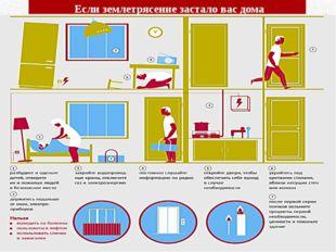 Если землетрясение застало вас дома