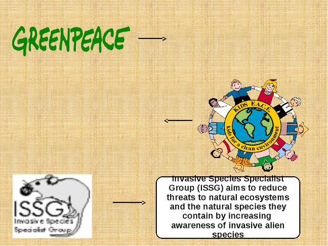 Invasive Species Specialist Group (ISSG) aims to reduce threats to natural ec...