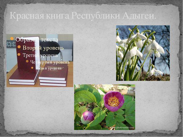 Красная книга Республики Адыгеи.