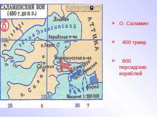 О. Саламин 400 триер 800 персидских кораблей