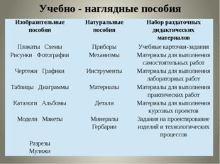 Учебно - наглядные пособия Изобразительные пособия Натуральные пособия Набор