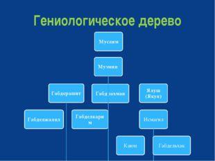 Гениологическое дерево
