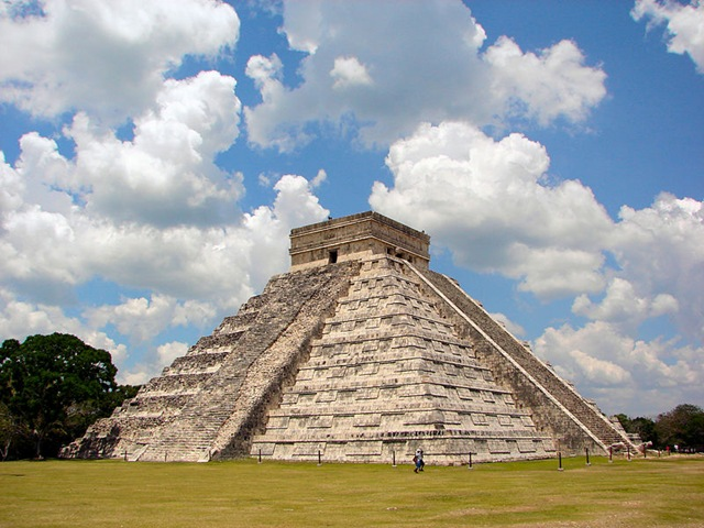 пирамиды в мексике