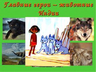 Главные герои – животные Индии