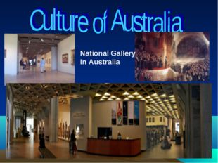 National Gallery In Australia