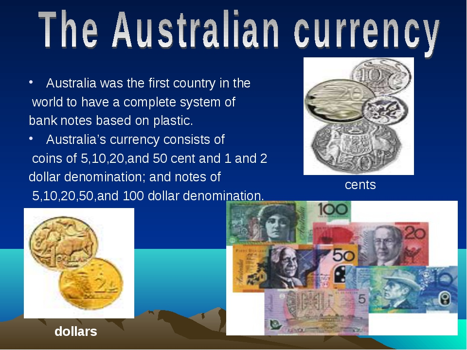 Australia was the first country in the world to have a complete system of ban...