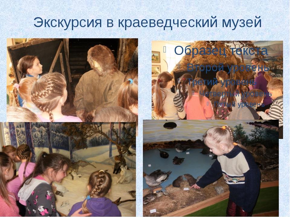 Экскурсия в краеведческий музей