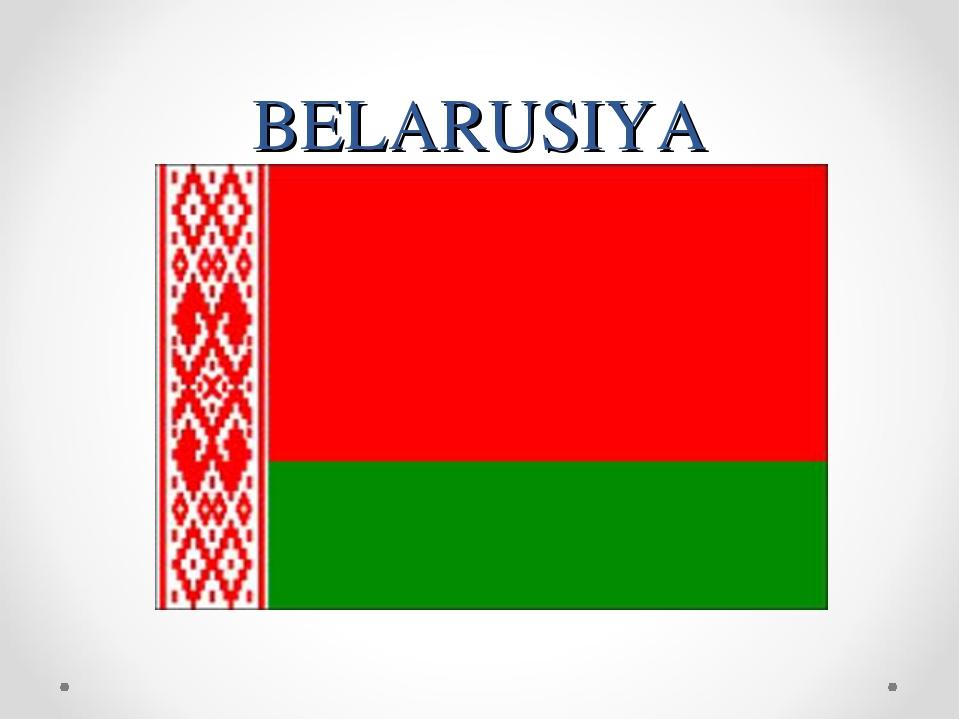 BELARUSIYA