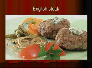 English steak