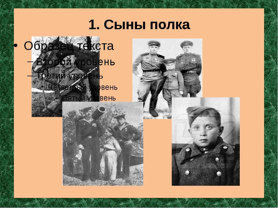 1. Сыны полка
