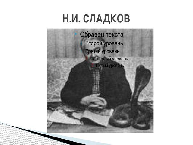 Н.И. СЛАДКОВ