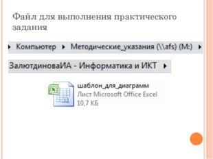 Файл для выполнения практического задания