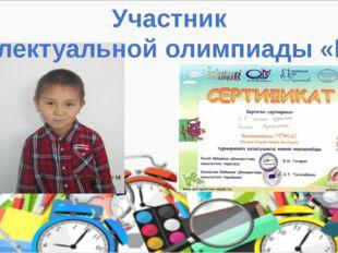 Участник интеллектуальной олимпиады «ПОНИ»